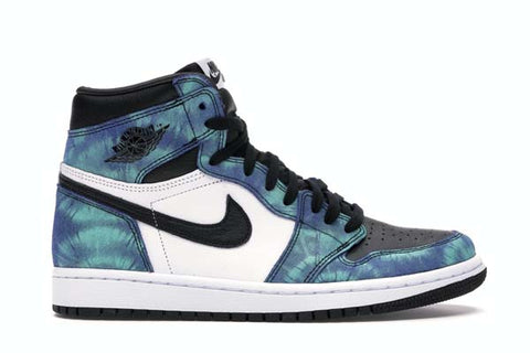 Nike-Air-jordan-1-tie-dye-sneakers-blue