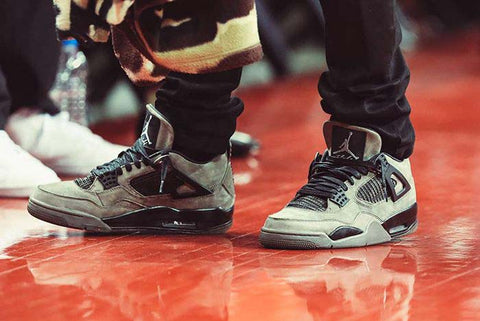 air jordan 4 travis scott collab olive air jordan 4