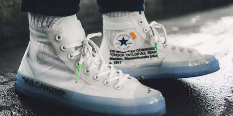chuck taylor off white sneaks