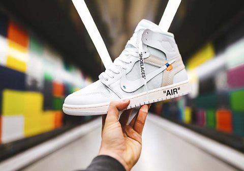 jordan1s creps off white sneaks