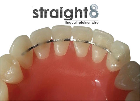 Straight 8 Lingual Retainer Wire - Nickel Free