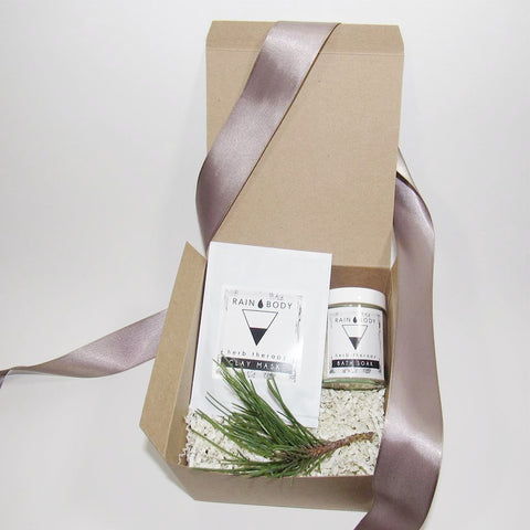 Spa Gift Set (Facial Mask and Bath Soak)