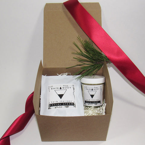 SPA GIFT SET (FACIAL STEAM AND BATH SOAK)