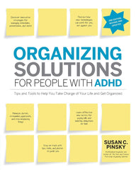 Organising solutions for people with ADHD