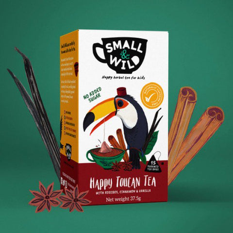 Happy toucan tea