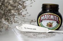 My Marmite Knife - Hand Stamped Vintage Knife - One Mama One Shed