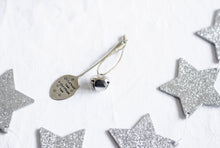 Christmas Decorations - Hand Stamped Vintage Teaspoon - One Mama One Shed