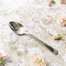 Tea - Hand Stamped Vintage Tea Spoon - One Mama One Shed