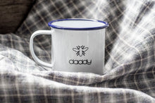 Daddy - Manchester Design - Engraved Enamel Mug - One Mama One Shed