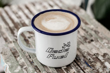 Dada Fuel - Engraved Enamel Mug - One Mama One Shed