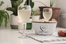Date Night - Engraved Enamel Snack Bowl - One Mama One Shed