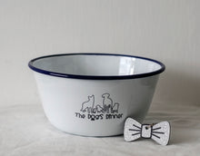 Limited Edition Engraved Dog Bowl & Bowdangle Set - by One Mama One Shed X Wren & Rye - One Mama One Shed