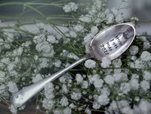 Royal Wedding Commemorative Teaspoon - Hand Stamped Vintage Tea Spoon - One Mama One Shed