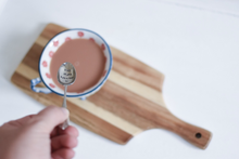 Hey There Hot-Tea - Hand Stamped Vintage Tea Spoon - One Mama One Shed
