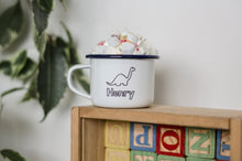 Personalised Name - Engraved Enamel Mug - One Mama One Shed