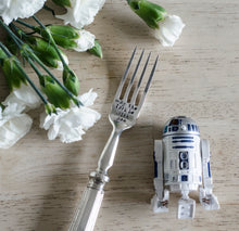 May The Fork Be With You - Hand Stamped Engraved Fork - Vintage Fork - One Mama One Shed