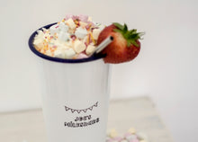 Personalised Milkshake - Engraved Enamel Tumbler - One Mama One Shed