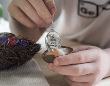 My Creme Egg Spoon - Easter Spoon - One Mama One Shed