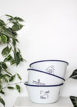 Love Grows Here - Engraved Enamel Planter - One Mama One Shed