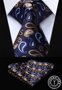 Saint Paisley: 2pc Set - Uptown Ties