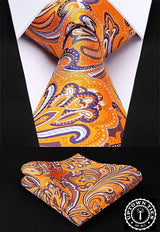 Citrus Paisley: 2pc Tie Set - Uptown Ties