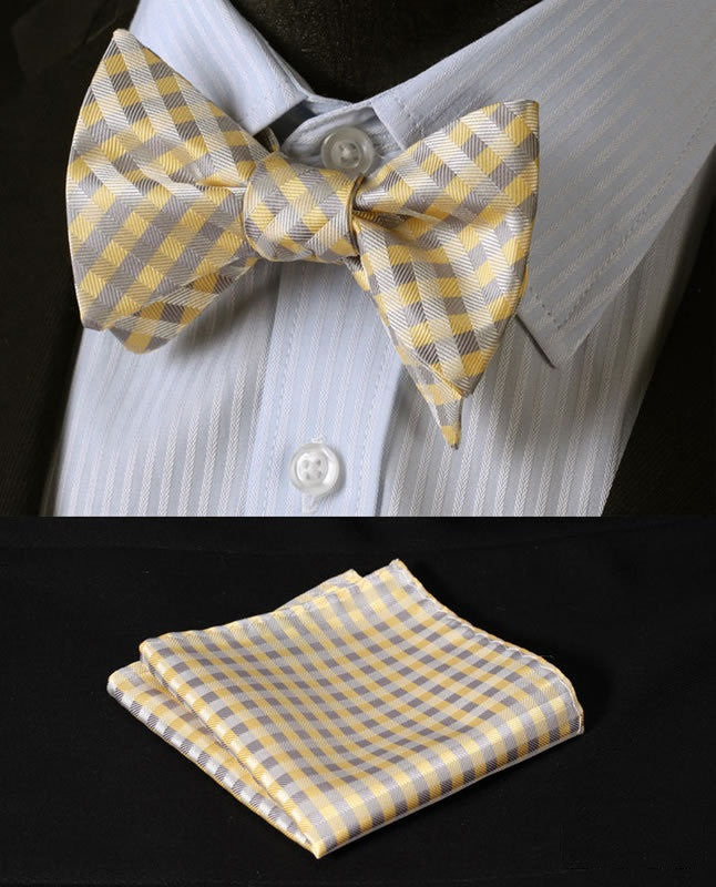 The Prepster - w/ Pocket Square - Uptown Ties