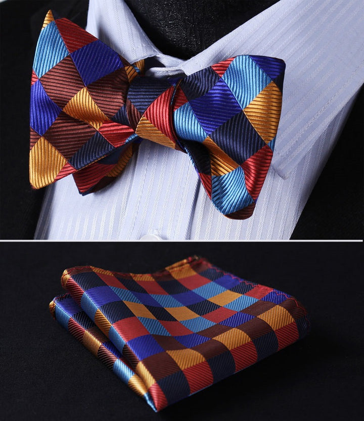 The Aristocrat - w/ Pocket Square - Uptown Ties
