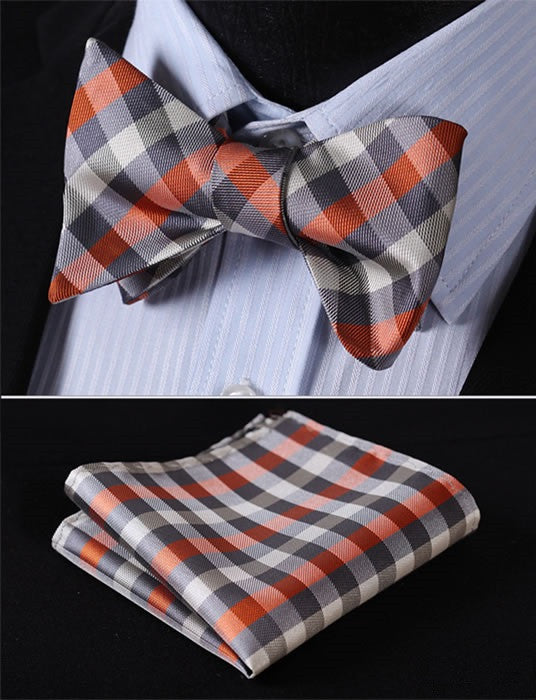 The Staple- w/ Pocket Square - Uptown Ties