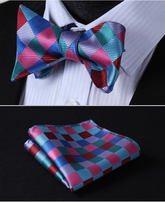 King of Diamonds - w/ Pocket Square - Uptown Ties