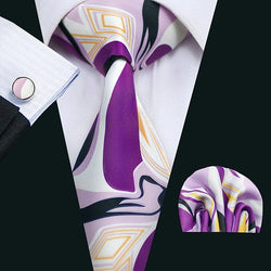 Enhanced Purple: 3pc Set - Uptown Ties