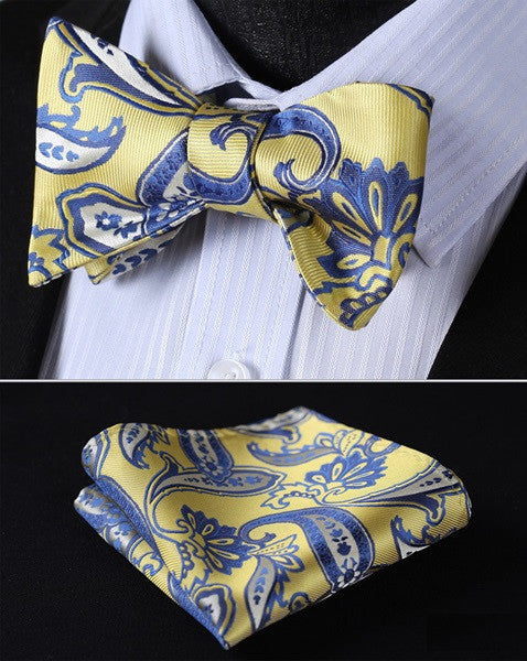The Bonjour - w/ Pocket Square - Uptown Ties