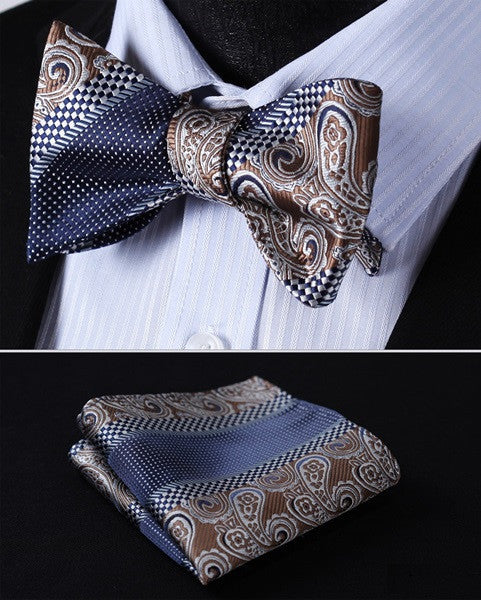 Big Ben - w/ Pocket Square - Uptown Ties