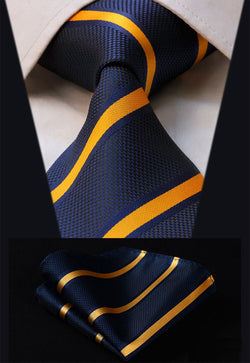 The Double Take (XL) - w/ Pocket Square - Uptown Ties