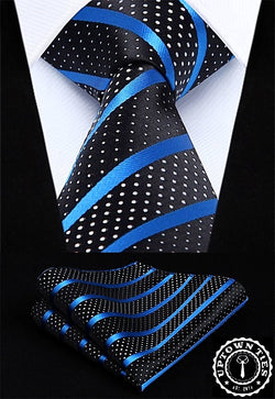 New York Lights (XL): 2pc Set - Uptown Ties