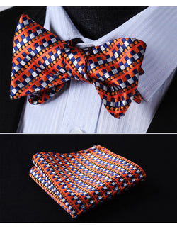 The Denver - w/ Pocket Square - Uptown Ties