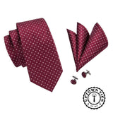 The Crimson: 3pc Set - Uptown Ties