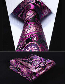 Emperor Paisley - w/ Pocket Square - Uptown Ties