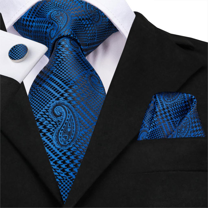 Houndstooth Twist: 3pc - Uptown Ties