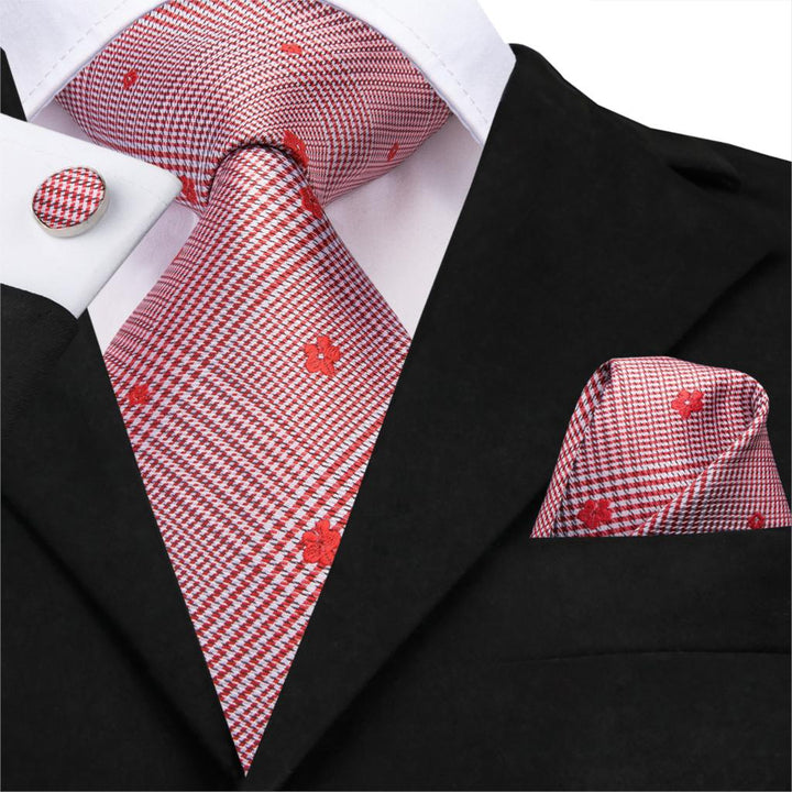 Country Red: 3pc - Uptown Ties
