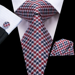 Fall Ready Red/Blue: 3pc - Uptown Ties