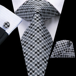 Fall Ready Grey/Black: 3pc - Uptown Ties