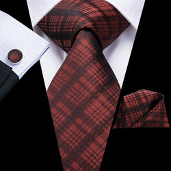 Plaid for Busniess: 3pc - Uptown Ties