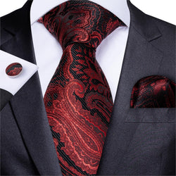Fire Paisley: 3pc - Uptown Ties