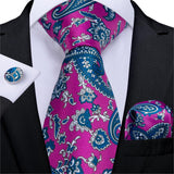 Pink Fields: 3pc - Uptown Ties