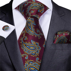 Gentlemen Paisley: 3pc - Uptown Ties