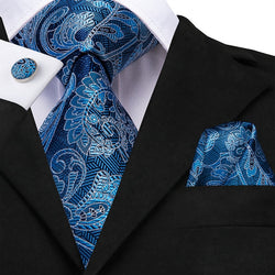 Ice Paisley (2-3 Day Shipping) - Uptown Ties