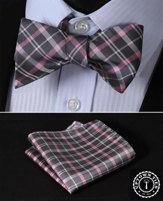 Be Married Plaid: 2pc Set - Uptown Ties