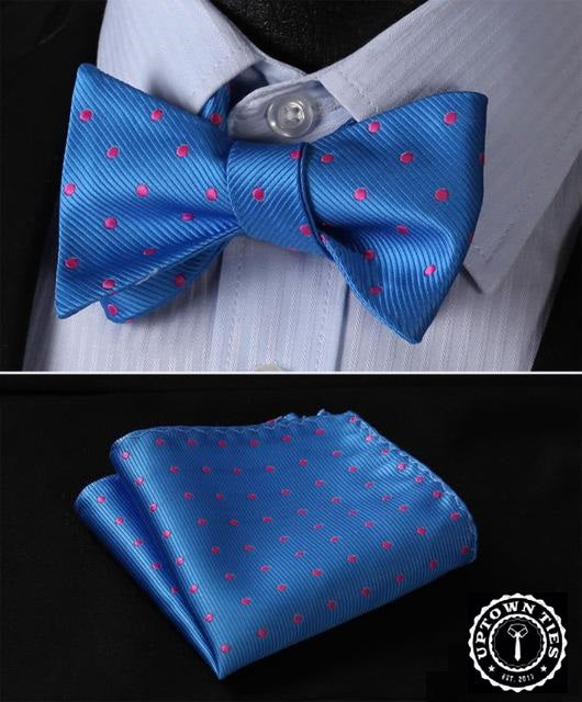 Harold Blue: 2pc Set - Uptown Ties