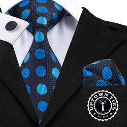 Polka Blues: 3pc Set - Uptown Ties