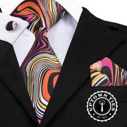 Picasso's Flare: 3pc Set - Uptown Ties